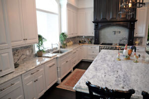 Get your countertops/vanities done- Kitchen &  Bathroom Reno