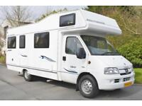2007 COMPASS AVANTGARDE 180 6 BERTH FAMILY MOTORHOME FOR SALE
