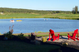 Lake View RV Lots Ready to Live On at Trestle Creek Golf Resort Strathcona County Edmonton Area image 4