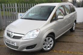 Vauxhall Zafira DESIGN CDTI 7 seat diesel