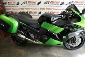 2011 Kawasaki ZZR1400 ABS, Luggage Fitted.