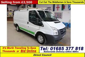 2008 - 08 - FORD TRANSIT T300 2.2TDCI 85PS FWD SWB VAN (GUIDE PRICE)