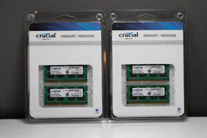 Four 4GB SODIMM memory sticks - Mac compatible