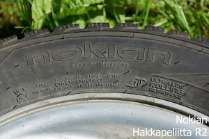 (x4) WINTER TIRE - NOKIAN - 205/55/R16 - LOTS OF TREAD Prince George British Columbia image 5