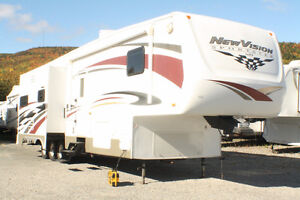 New Vision Sportster 37K Toy hauler Limited Edition. Must see!