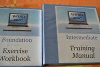 WORD 2007 Intermediate and WORD 2007 Exercise books