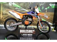 KTM 2012 KTM SXF 350 MOTOCROSS BIKE ELECTRIC START, NEW GRIPS, RENTHAL BARS