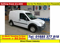 2006 - 56 - FORD TRANSIT CONNECT T230 1.8TDCI VAN (GUIDE PRICE)