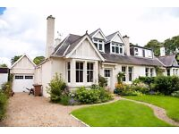 Stunning unfurnished 4 bedroom family home in Colinton