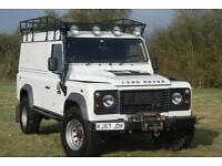 Land Rover 110 Defender 2.4 TDCi Hard Top