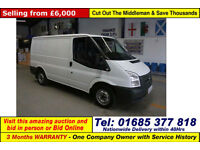 2012 - 62 - FORD TRANSIT T280 2.2TDCI 100PS SWB FWD VAN (GUIDE PRICE)