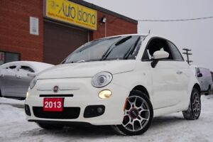 2013 Fiat 500 Sport, Bluetooth, Leather, Sunroof