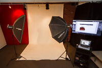 $35 / 800ft2 - Photo / Video Studio Space for Rent - Hourly / Da