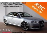 2007 Audi A4 2.0TDI 170BHP Special Edition quattro S Line -FULL LEATHER-BOSE-