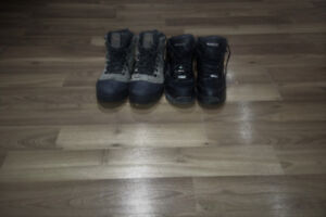Reebok Safety Shoe  and Columbia omni grip Snow Shoe
