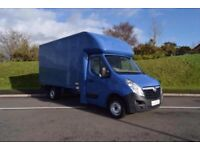 MAN AND VAN HOUSE REMOVALS LOCAL AND LONG DISTANCE MOVES AVAILABLE AT SHORT NOTICE LARGE LUTON VAN