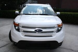 Beautiful, Limited edition ford explorer suv.