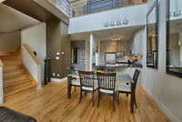 Condo-Penthouse avec mezzanineet 3 terrasses