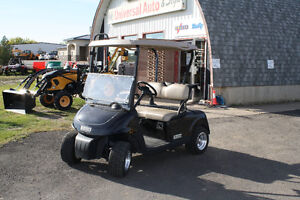2012 E-Z-EGO RXV GAS GOLF CART USED
