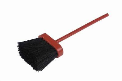 Red Wooden Black Bristle Hearth Brush Companion Set High Quality Scottish Brush
