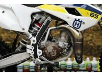 2017 HUSQVARNA TC 85 MOTOCROSS BIKE BIG WHEEL, NEW GRIPS