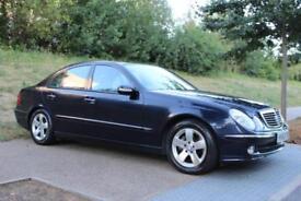 2003 Mercedes-Benz E Class 3.2 E320 Avantgarde Saloon 4dr Automatic LOW MILEAGE!
