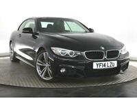 2014 BMW 4 Series 2.0 420d M Sport 2dr Convertible Diesel Manual