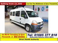 2007 - 57 - RENAULT MASTER 2.5DCI 120PS WILKER 8 SEAT DISABLED ACCESS MINIBUS