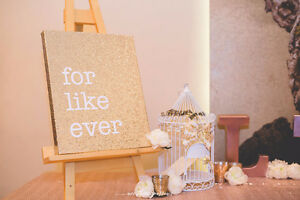 Wedding/Party canvases and Easels Cambridge Kitchener Area image 2