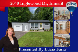 OPEN HOUSE SAT 2-4PM STEPS FROM THE LAKE IN INNISFIL