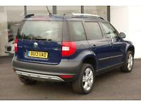2013 Skoda Yeti 2.0 TDI CR SE Plus Station Wagon 4x4 5dr