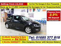 2013 - 63 - VOLKSWAGEN POLO 1.2 PETROL 3 DOOR HATCHBACK (GUIDE PRICE)