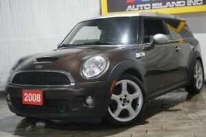 2008 MINI Cooper Clubman S Coupe 6Speed Leather Sunroof  Super C