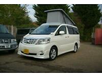 2006 TOYOTA ALPHARD CAMPER VAN,MOTORHOME, 4 BERTH~POP ROOF~SIDE KITCHEN~ULEZ