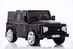 Land Rover Defender Kids Ride On Toy w/ Remote Control