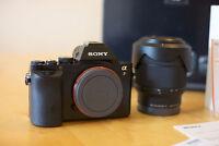 Sony A7 + Sony FE 28-70mm OSS Lens in box with receipt