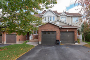 Beautiful 3 Bed, 3 Bath Townhome with Nature views in Orleans!