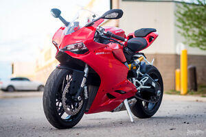 Mint 2014 Ducati 899 Panigale with 4K in mods