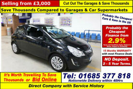 2013 - 13 - VAUXHALL CORSA ENERGY 1.2 PETROL 3 DOOR HATCHBACK (GUIDE PRICE)