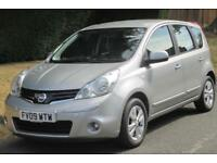 Nissan Note1.6 16v Acenta 5dr Automatic (Choice of Three)