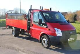 Ford Transit 2.2TDCi ( 125PS ) 350EF Dropside With Tail Lift £9,495 +VAT