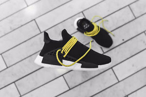 NEW NMD HUMAN RACE PHARELL WILLIAMS BLACK US 7