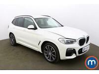 2018 BMW X3 xDrive20d M Sport 5dr Step Auto 4x4 Diesel Automatic