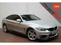 OCT 15 BMW 420 2.0TD (184bhp) 4X4 Gran Auto d xDrive M Sport-DAB-LEDS-XENONS-