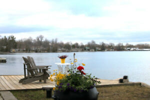 "WATERFRONT COTTAGE -  INNISFIL ONTARIO  ""COOK'S BAY"""