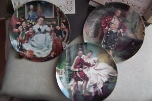The King and I boxed Collectors Plates (3)