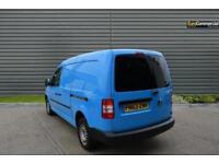 2013 Volkswagen Caddy 1.6 TDI C20 Startline Panel Van 4dr Diesel blue Manual