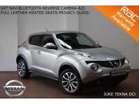 2013 Nissan Juke 1.5dCi (110ps) Tekna-LEATHER-NAV-REV. CAMERA-B.TOOTH-S.H.