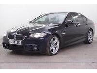 2014 BMW 5 Series 520D M SPORT Diesel black Automatic