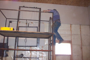 One Man Drywall Lift with Scaffolding REDUCED